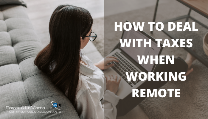 How to deal with taxes when working remote